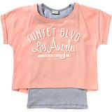 Set T-Shirt+Top für Mädchen