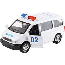 Полицейская машина, функциональная, 1:28, KRUTTI