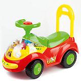 Машина-каталка, со светом и звуком, Маша и Медведь, Bugati