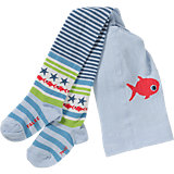 Kinder Strumpfhose Fishy Stripe