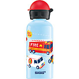 Alu-Trinkflasche Road Action, 400 ml