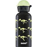 SIGG Trinkflasche Glow Walking Dinos, 0,4 l