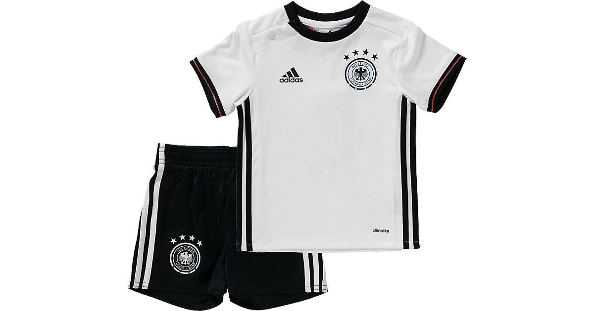 DFB Home Baby Kit weiß/schwarz Gr. 80
