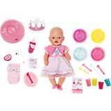BABY born Puppe Interactive 25. Geburtstag, 43 cm