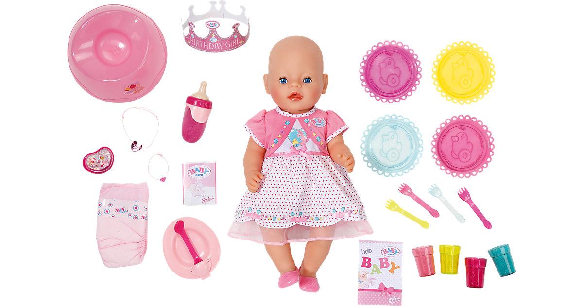 BABY born® Puppe Interactive 25. Geburtstag, 43 cm