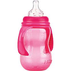 Бутылочка с широким горлом, Nuby, 300 мл., розовый