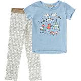 Set T-Shirt + Leggings für Mädchen