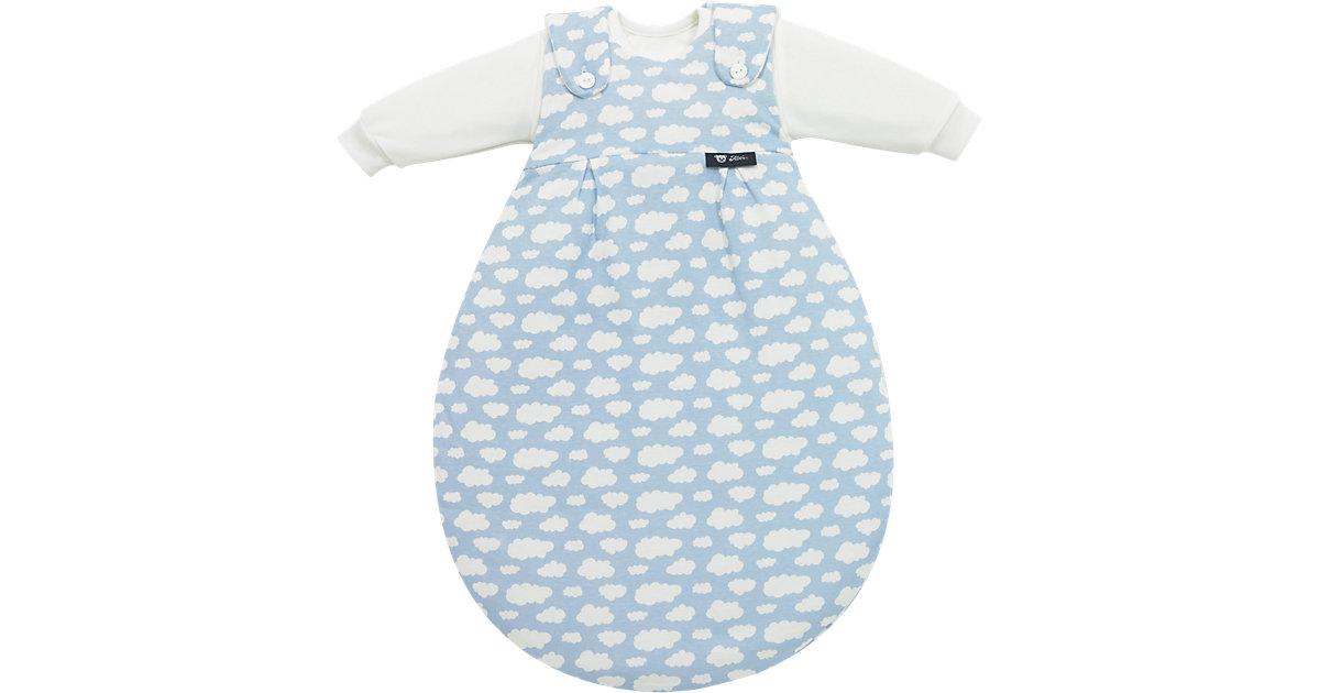 Schlafsack Baby Mäxchen, Wolke blau Gr. 56/62