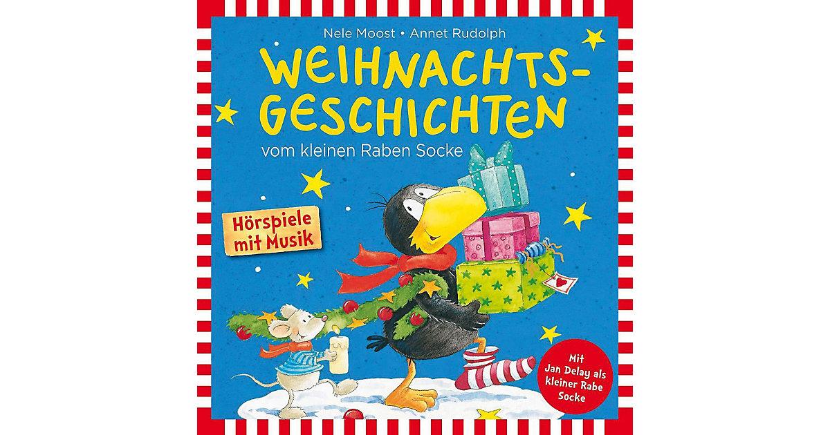 CD Weihnachtsgeschichten vom Kleinen Raben Socke