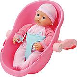 Кукла 32 см и кресло-переноска, my little BABY born