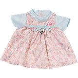 Baby Annabell® Kleid, blaue Ärmel