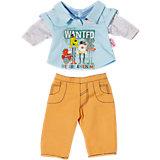 Одежда стильная для мальчика, оранжевые штаны, BABY born