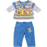 Одежда стильная для мальчика, синие штаны, BABY born