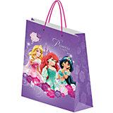 """Подарочный пакет """"Принцессы Дисней"""" 33*43*10 см"""