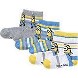 MINIONS Socken 3-er Pack für Jungen
