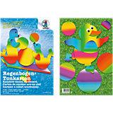 Regenbogen-Tonkarton, 10 Blatt, beidseitig bedruckt