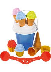 myToys Sandspielzeug Eis & Cupcakes, 17-tlg.