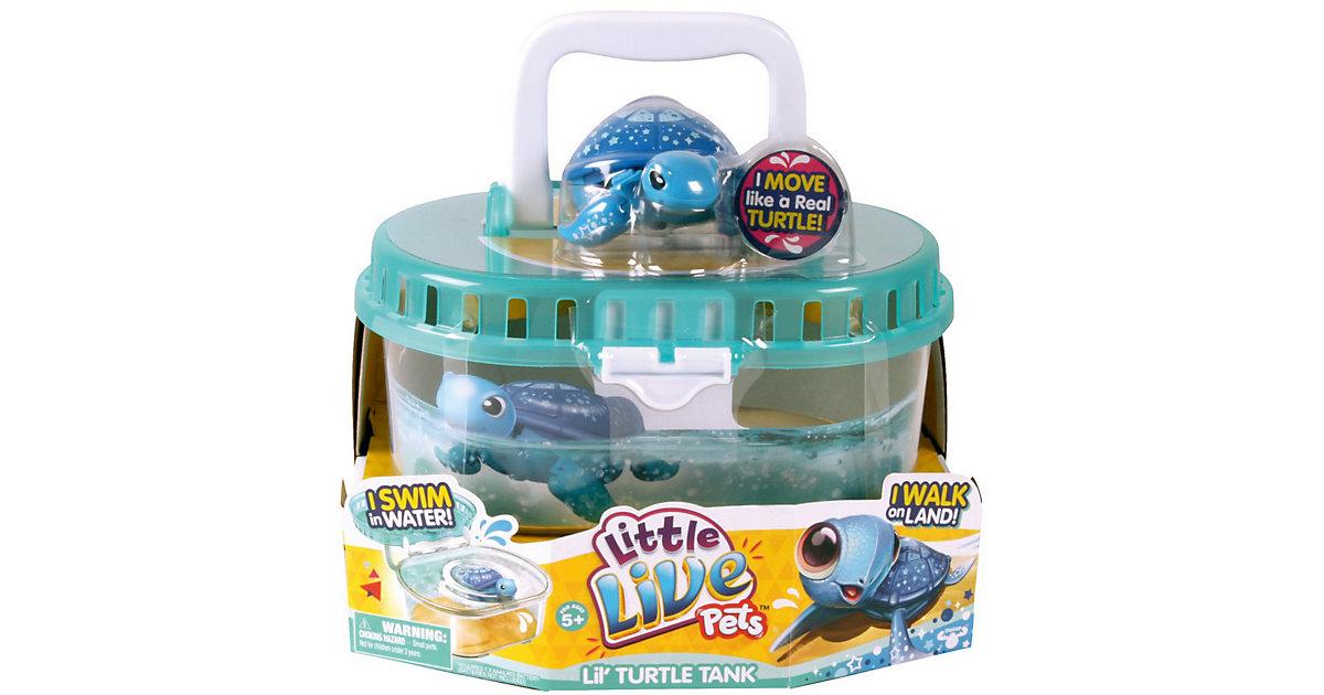 LITTLE LIVE PETS Schildkröte mit Wassertank