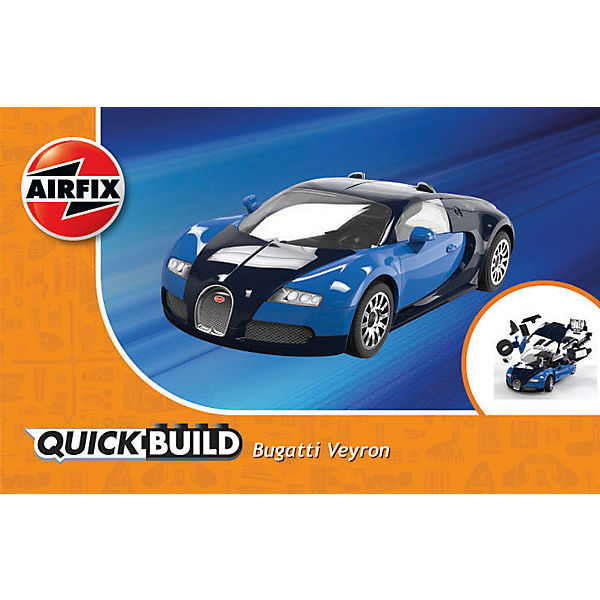 airfix quickbuild bugatti veyron glow2b mytoys. Black Bedroom Furniture Sets. Home Design Ideas