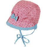 Baby Bindemütze mit Schirm für Mädchen