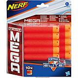 Подарок! Комплект 10 стрел для бластеров МЕГА, NERF