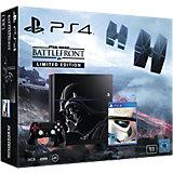 Sony PS4 Grundgerät 1TB inkl. Star Wars Battlefront (limitierte Edition)