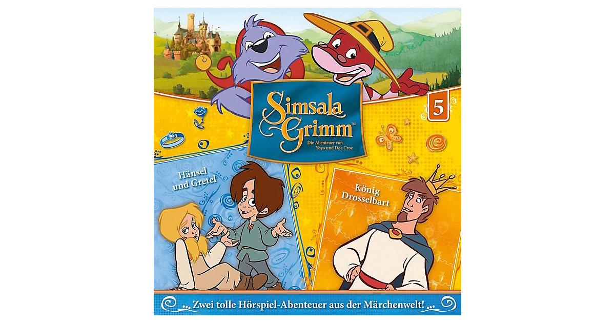 CD Simsalagrimm 05 - Hänsel Und Gretel/König Drosselbart Hörbuch
