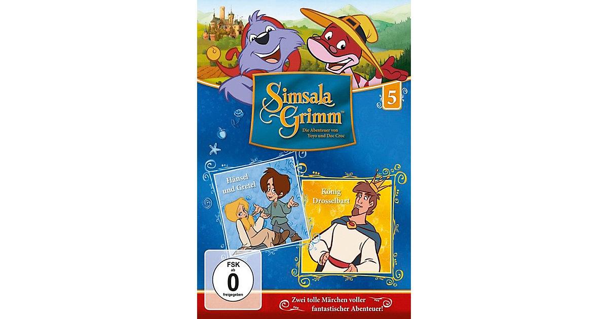 DVD Simsalagrimm 05 - Hänsel Und Gretel/König Drosselbart