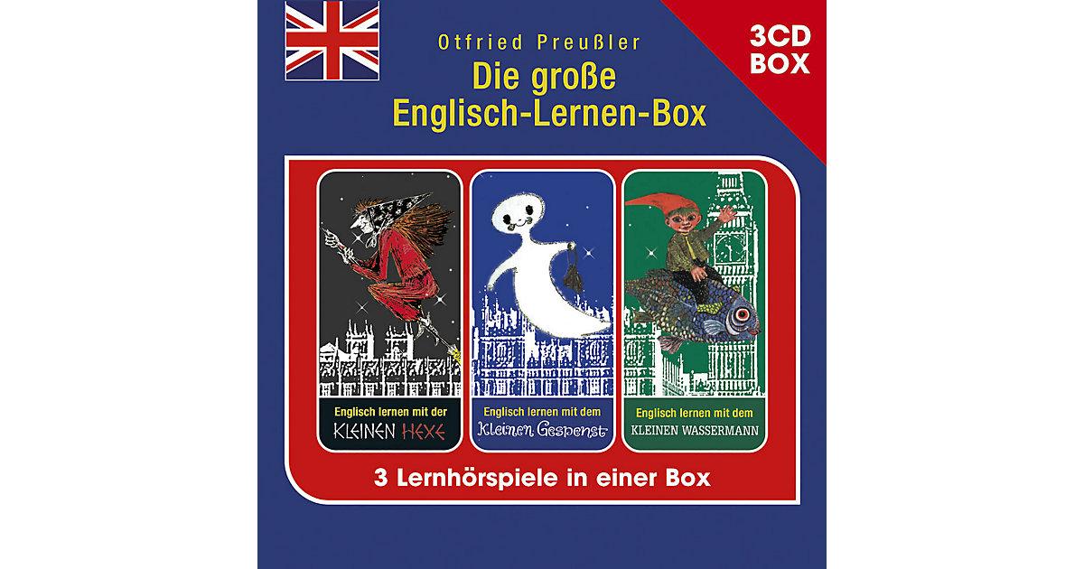 CD Die große Englisch-Lernen-Box (3er Hörspielbox) Hörbuch