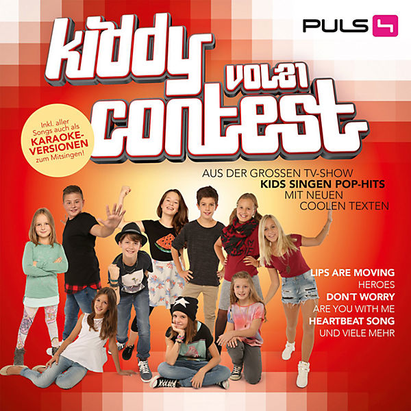 CD Kiddy Contest Kids  Vol.21