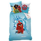 Kinderbettwäsche Angry Birds Red, Renforcé, 135 x 200 cm