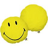 Kuschelkissen Smiley Original, gelb, 35 cm