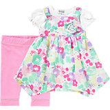 Baby Set Kleid + T-Shirt + Leggings