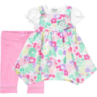 Baby Set Kleid + T-Shirt + Leggings