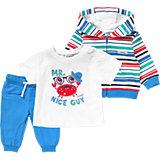 Baby Set Sweatjacke, T-Shirt + Hose für Jungen