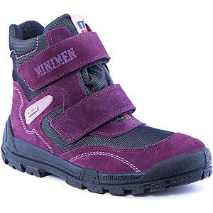 Полусапоги для девочки Minimen - фиолетовый