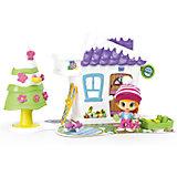 Зимний домик Пинипон с куклой и аксессуарами, Famosa