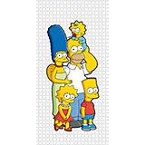 """Полотенце """"Семейка Simpsons"""" 70*140 см, Симпсоны"""