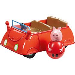 """Игровой набор """"Машина Пеппы неваляшки"""", Свинка Пеппа"""