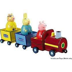 """Игровой набор """"Поезд Пеппы неваляшки"""", Свинка Пеппа"""