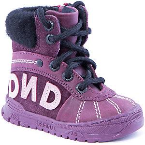 Полусапожки для девочки Dandino - фиолетовый