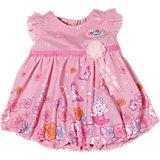 BABY born® Kleider Kollektion  Rosa mit Blumenprint, 43 cm