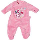 BABY born® Strampler Kollektion  rosa, 43cm