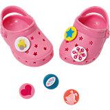 BABY born® Clogs mit Pins Rosa