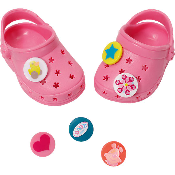 BABY born® Clogs mit Pins  Rosa, 43cm