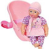 my little BABY born® Super Soft und Komfortsitz, 32 cm