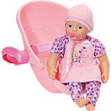my little BABY born® Super Soft und Komfortsitz, 32 cm