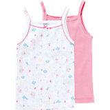 PETIT BATEAU Unterhemden Doppelpack für Mädchen