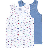 PETIT BATEAU Unterhemden Doppelpack für Jungen