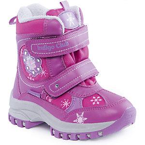 Сапоги для девочки Indigo kids - фиолетовый